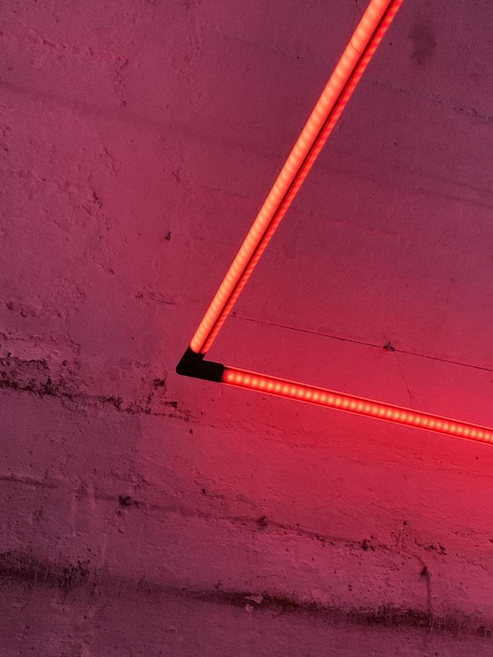 red LED lamp