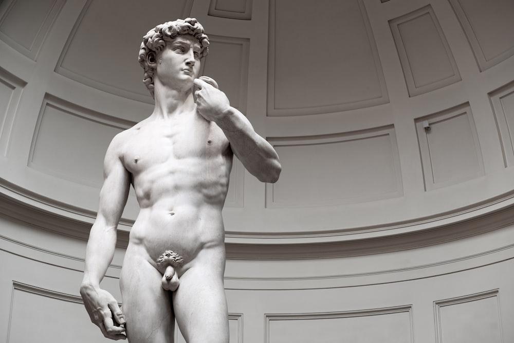 naked man sculpture