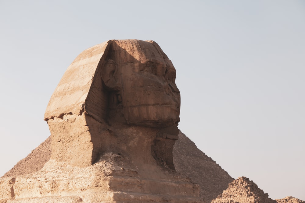 low-angle photo of Sphinx
