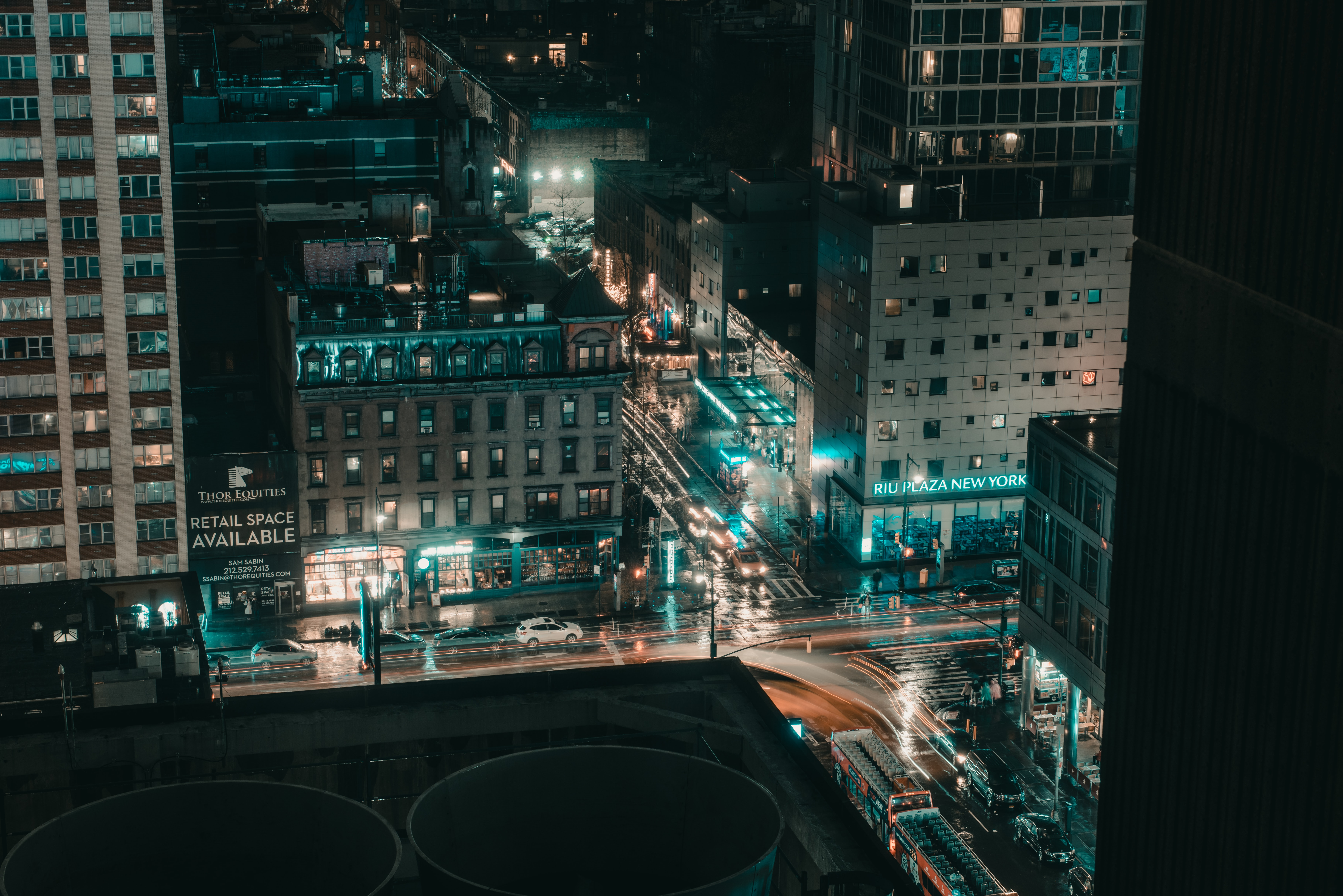 aerial photography of lights in city buildings during nighttime