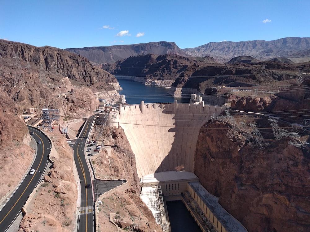 architecture photo of a dam