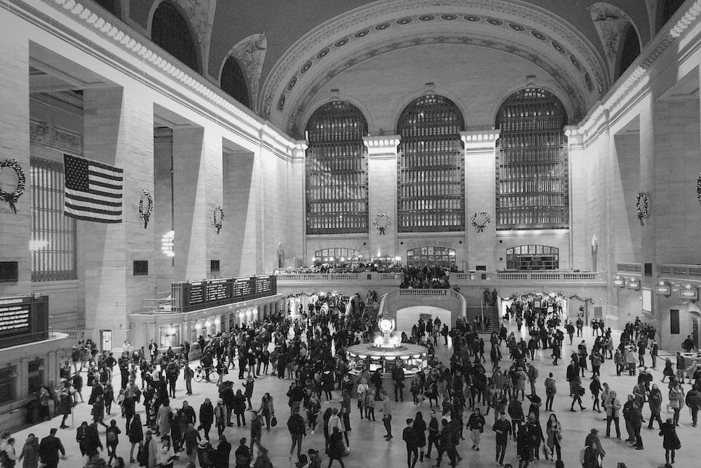 people inside terminal