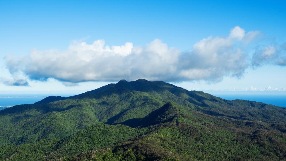 landscape of a mountain