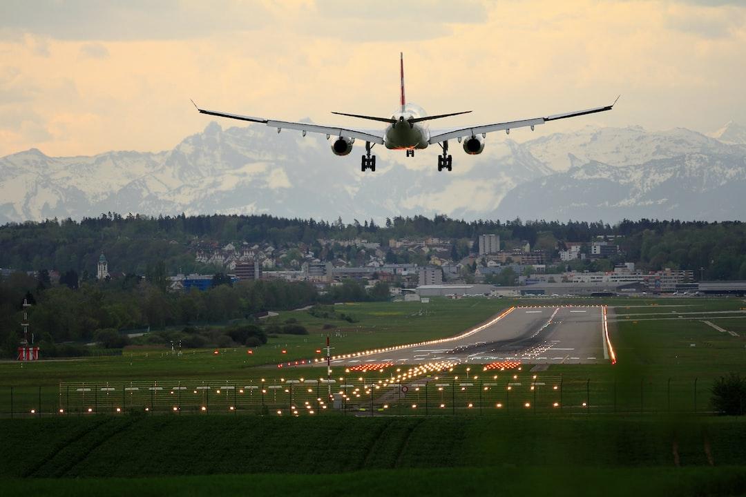 swiss landing in Zurich