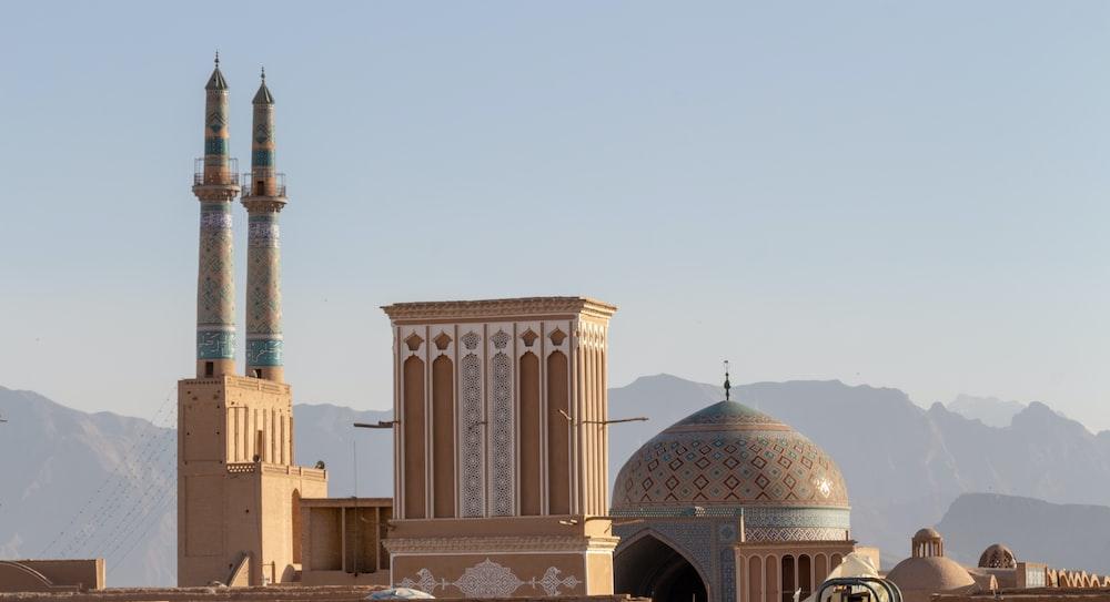 beige mosque