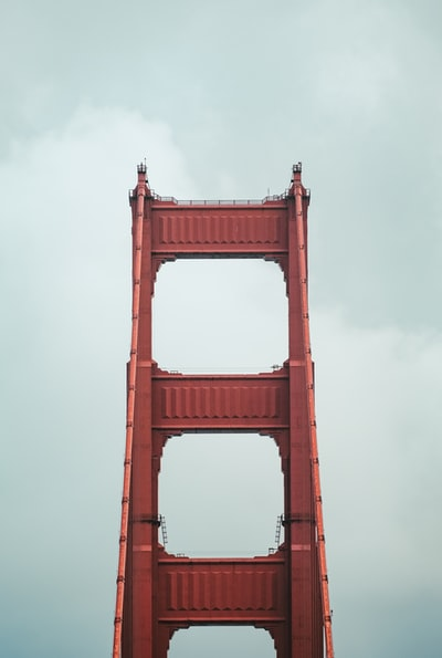 I've been to San Francisco twice and I've seen the Golden Gate twice. Each time, the thing that draws the most attention for me is the details of the bridge. I love this shot because it's abstract but at the same time you have no doubt that it's of the Golden Gate.