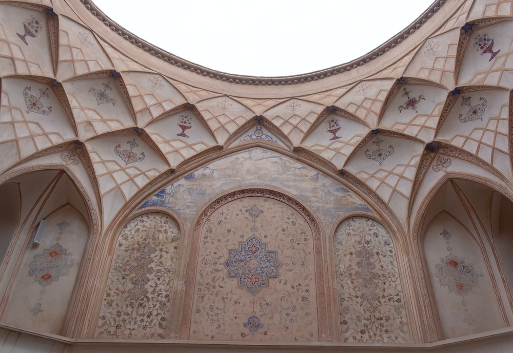 brown and beige cathedral wall