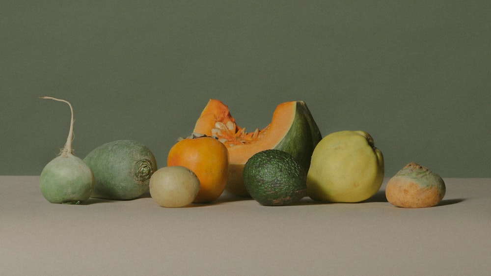 assorted-color of fruits and vegetables