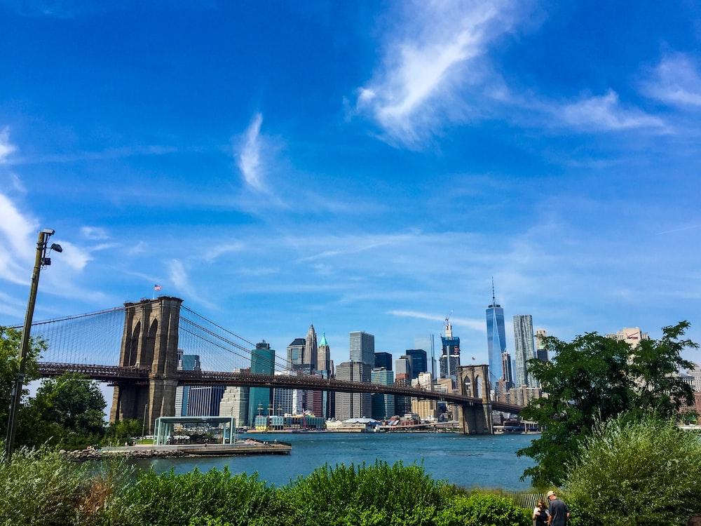 Brooklyn Bridge, New York City during day