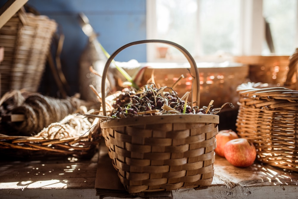 basket of spices