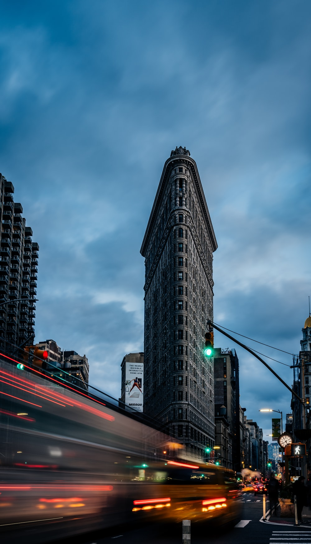 The Triangle building, New York