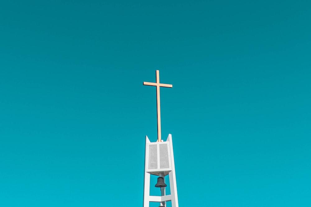 white cross during daytime