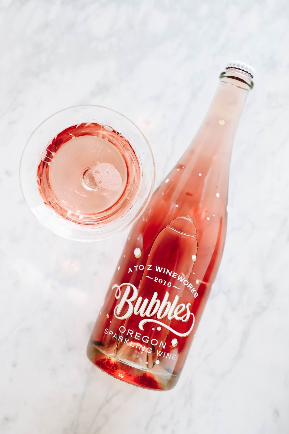 Bubbles bottle and cup