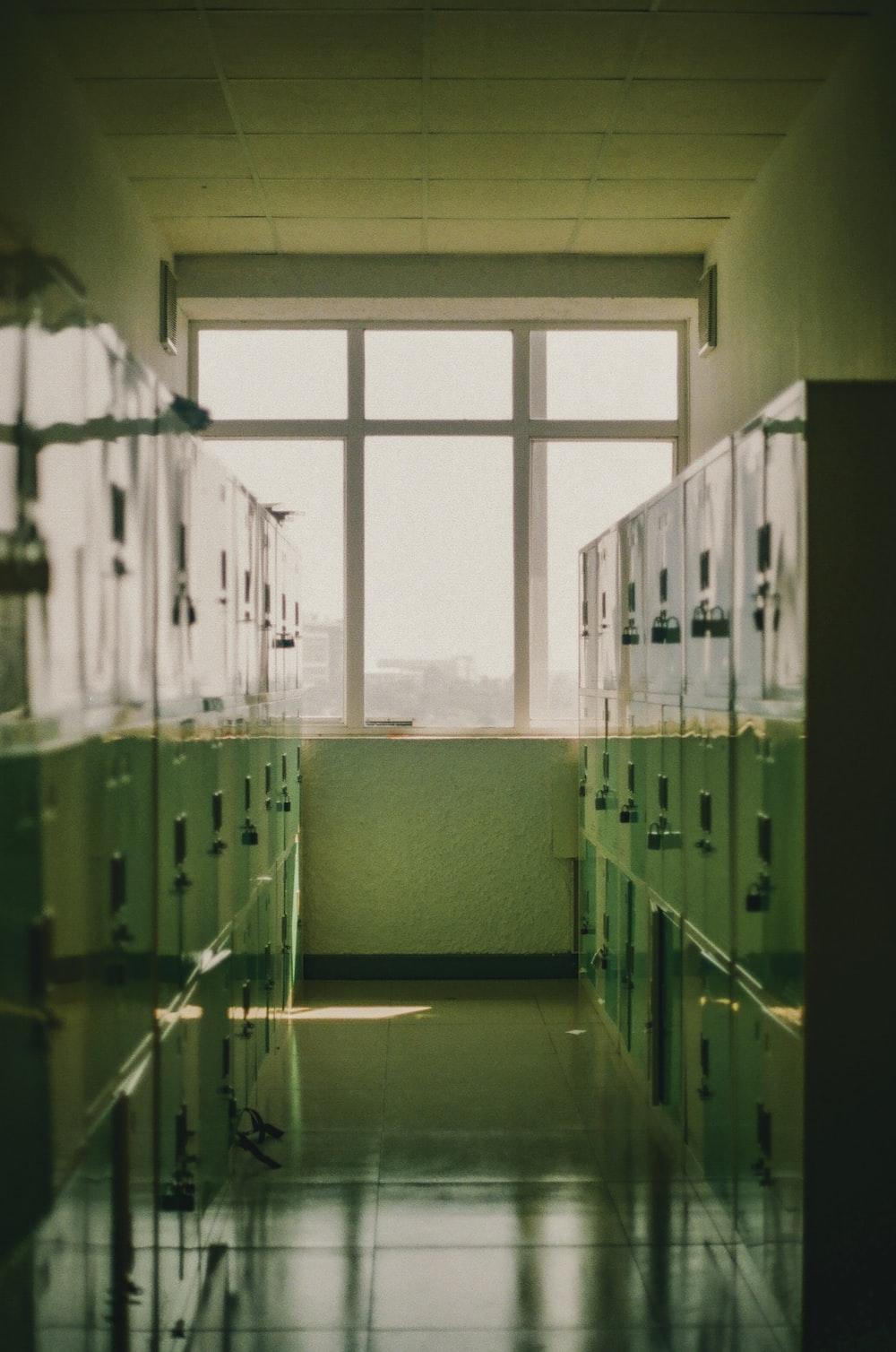 closed lockers