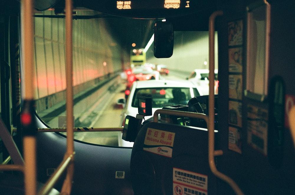 vehicle through windshield