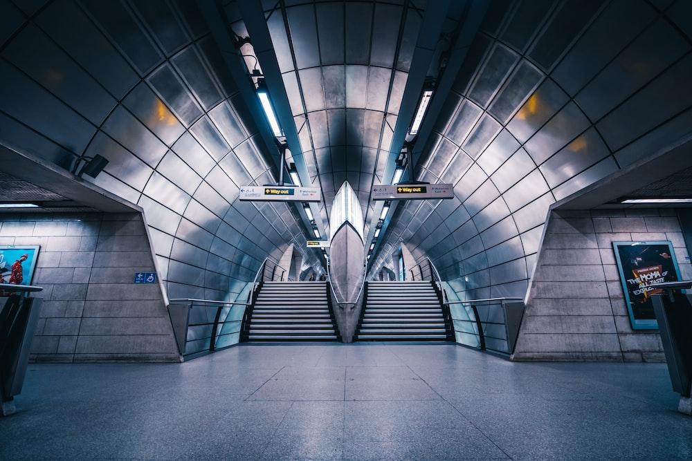 photography ofg subway