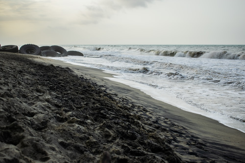 rocks near body of water