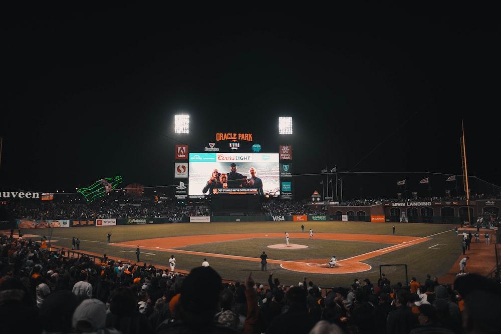 baseball field at daytime