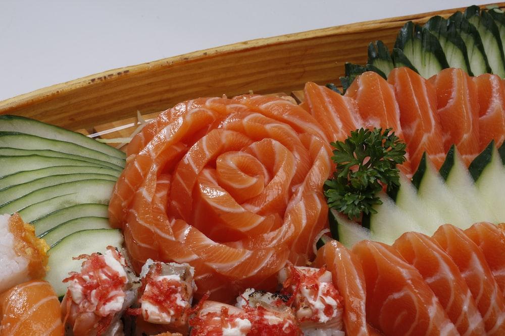 sushi food close-up photography