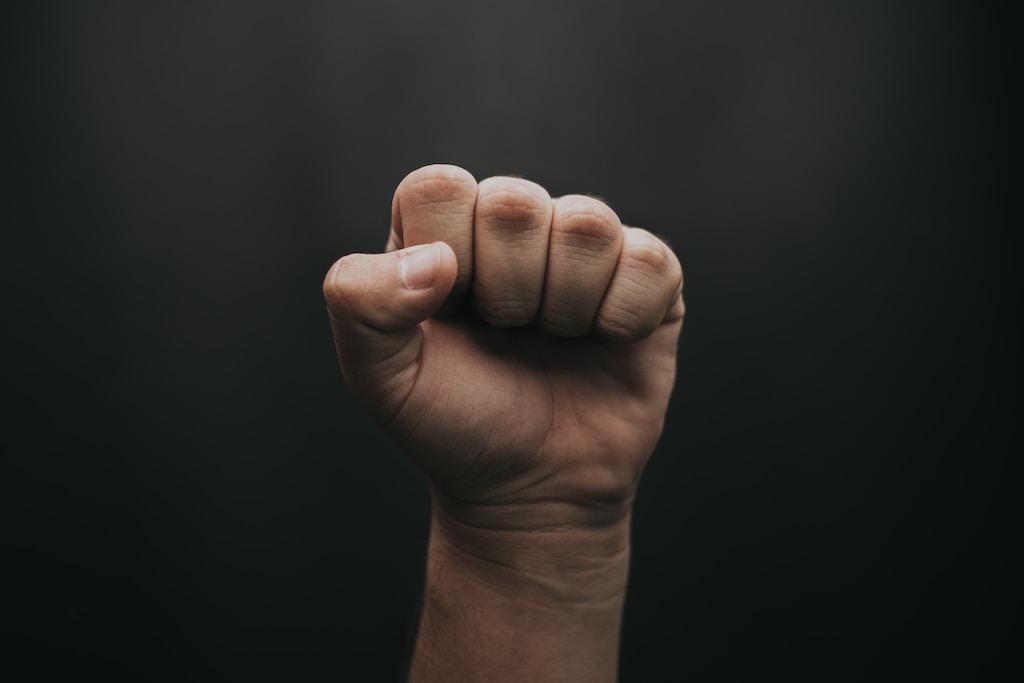 human fist photography
