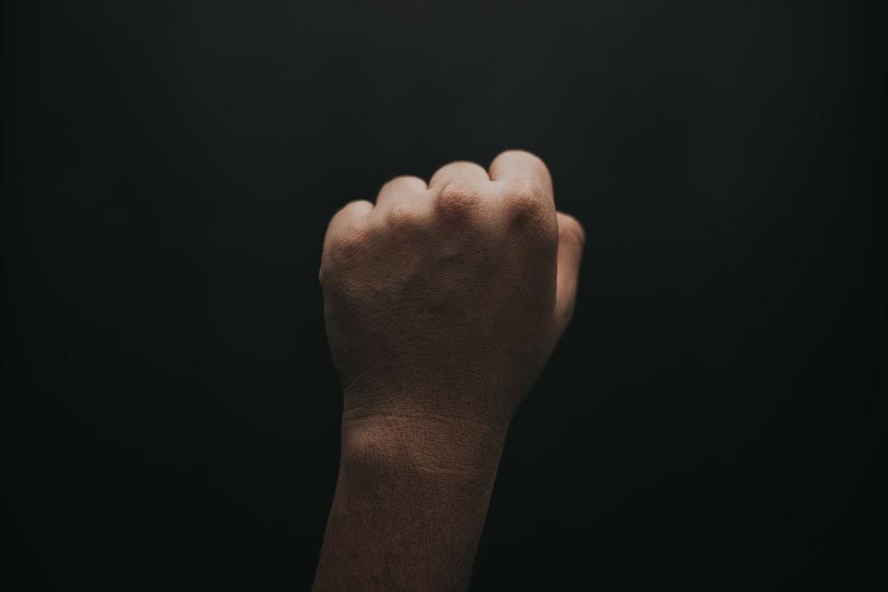 right human fist