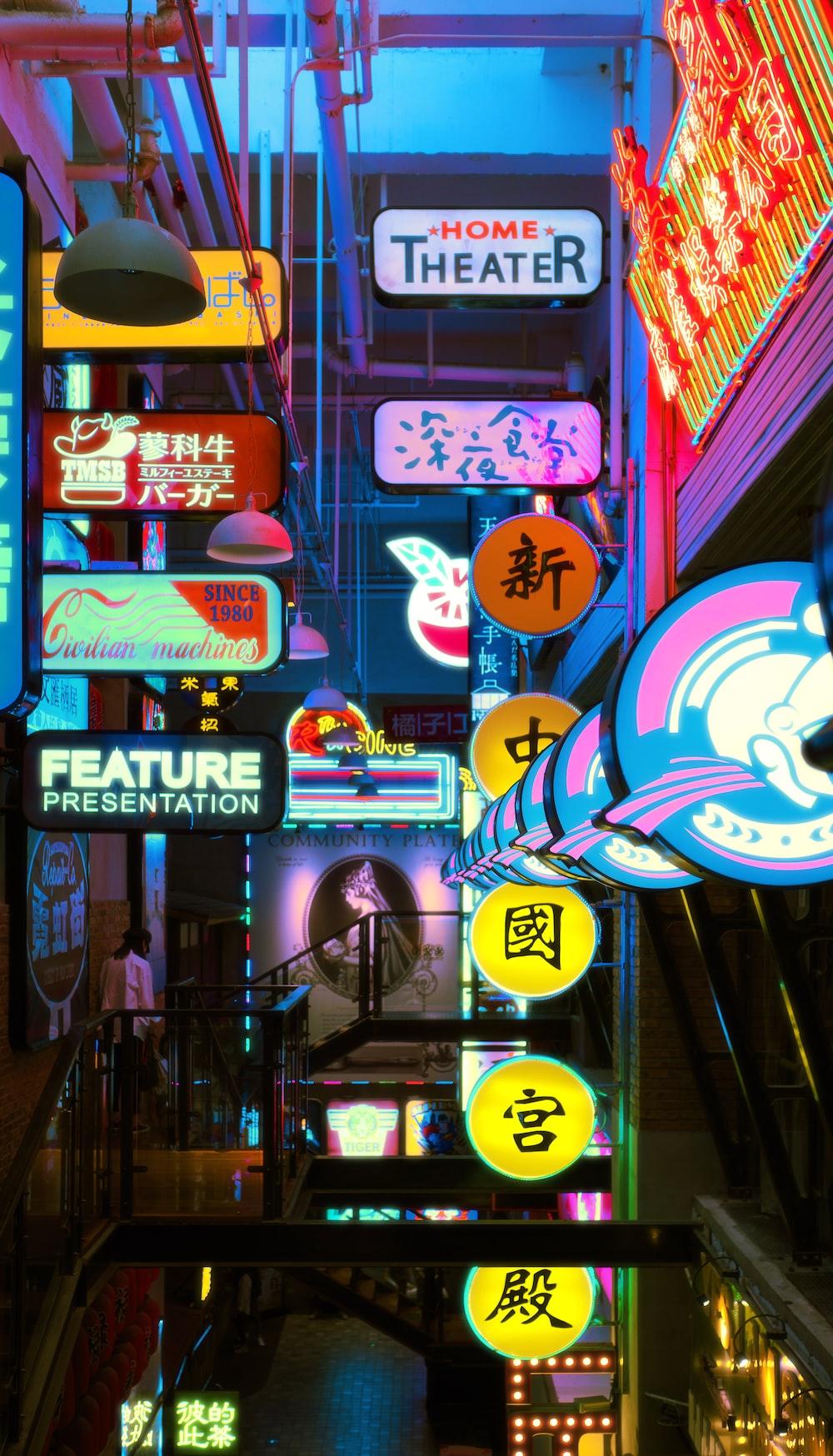 Neon Wallpapers Free HD Download [21+ HQ]   Unsplash