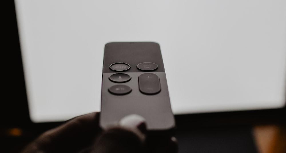 black Alexa Voice remote
