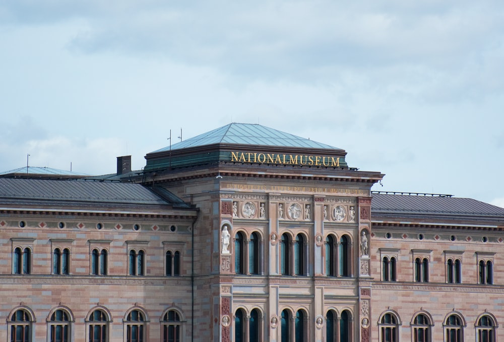 brown National Museum building