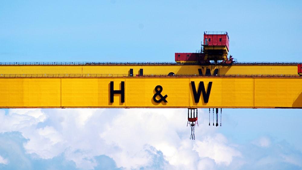 H&W signage