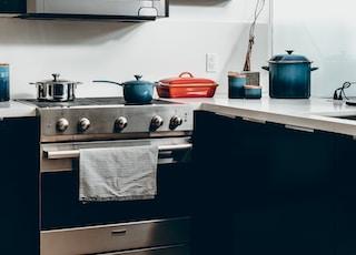 gray over-the-range oven
