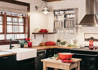 gray freestanding range oven