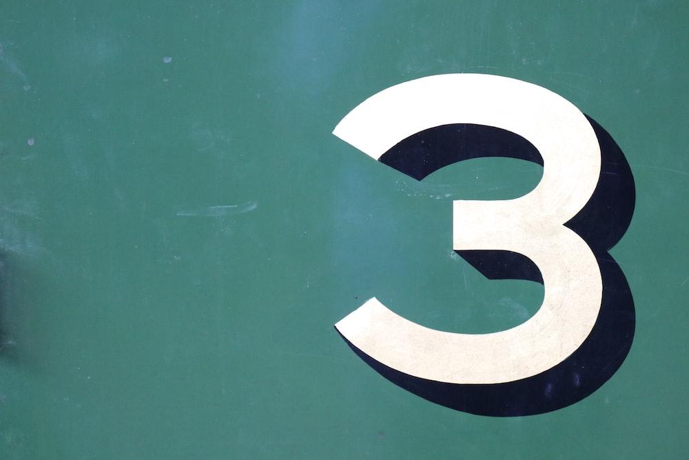 number 3 logo