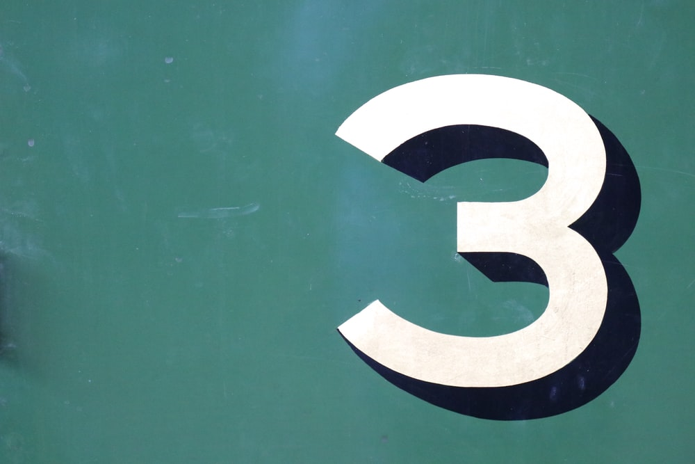 number 3 logo. Guide on how to find the best restaurant system.