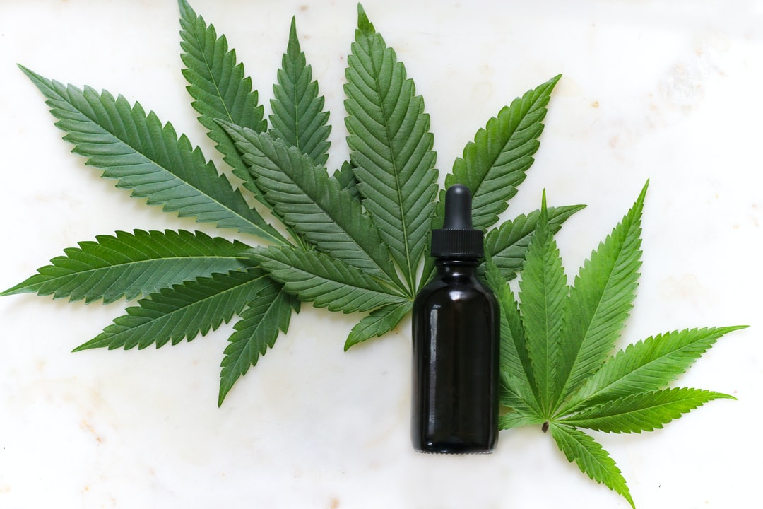 Hemp or cannabis tincture.