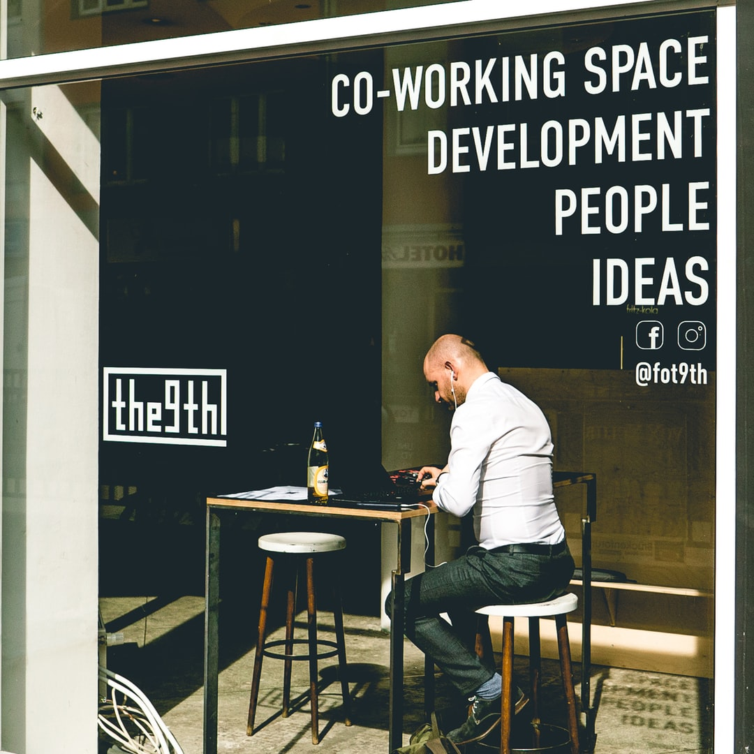 A local coworking space in my hometown - great people, great office, coffee and mate tea without limits :)