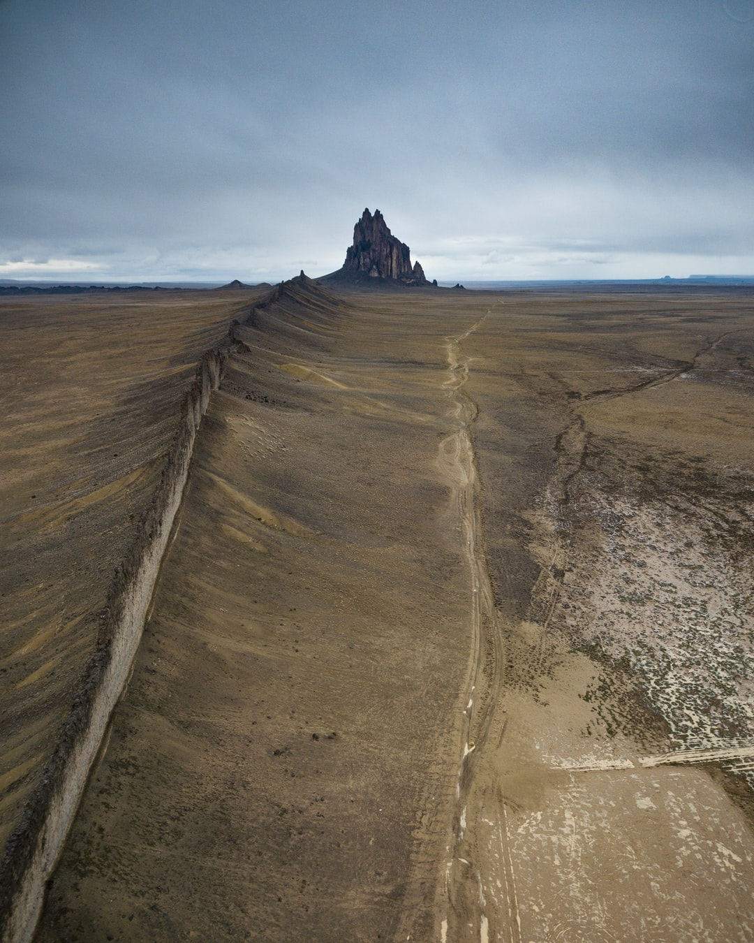 On a road trip through the American Southwest; I stopped by Shiprock, New Mexico for this beautiful sight.