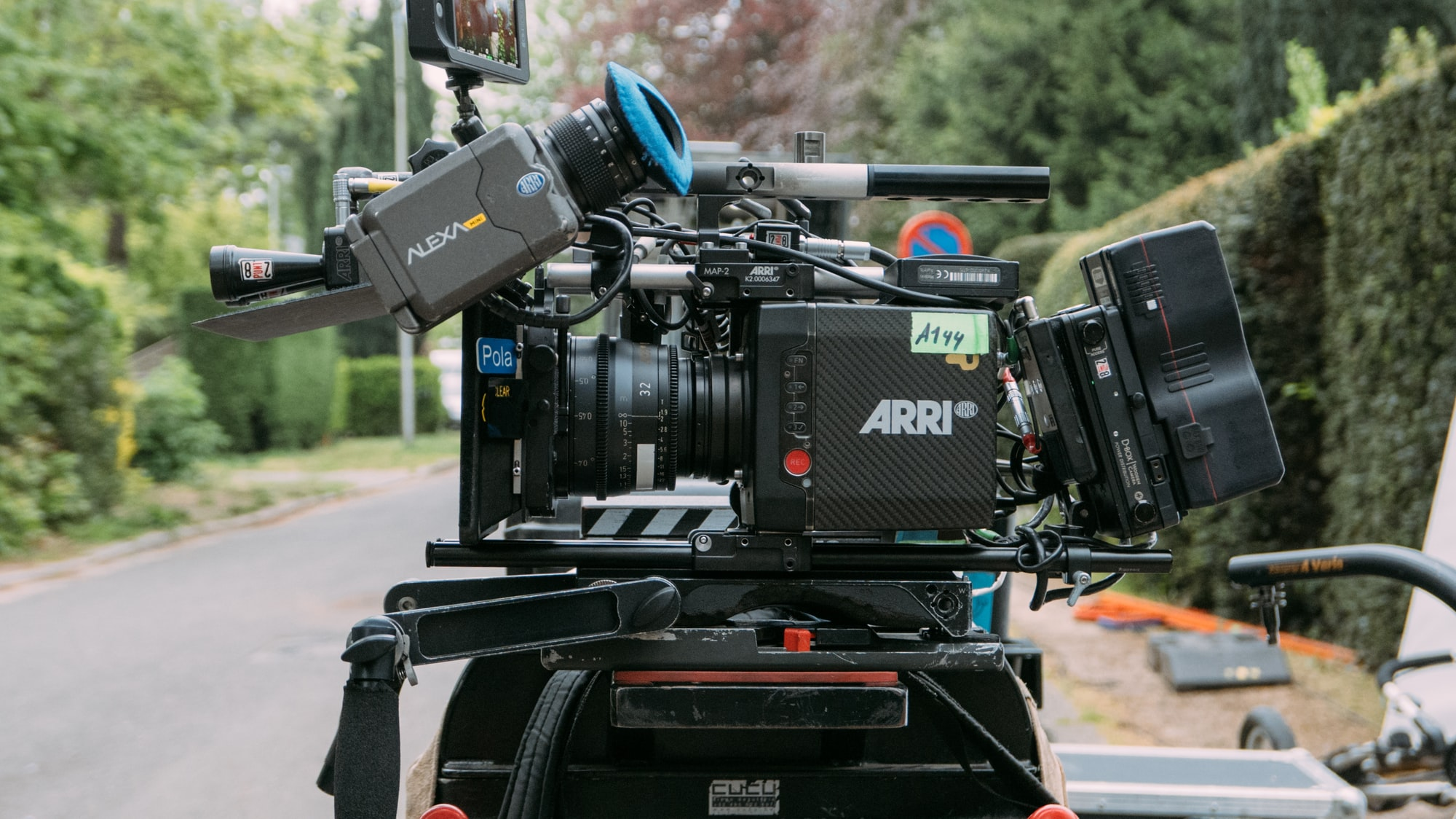 An Arri Alexa Mini with Arri Ultra Prime Lenses.