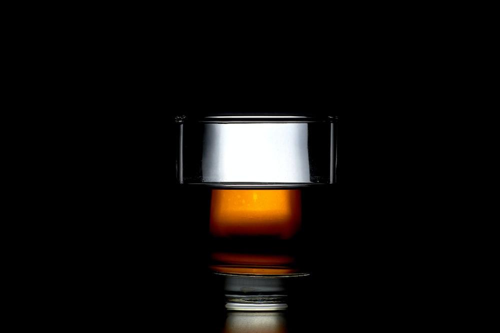 clear shot glass