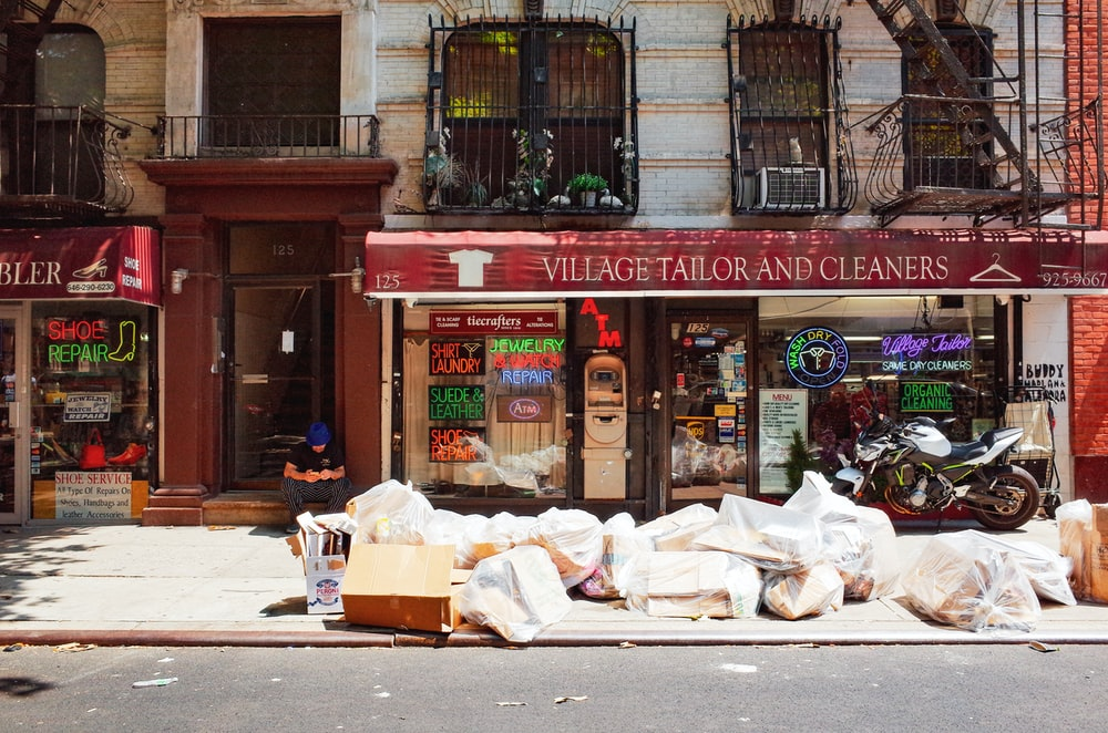 Village Tailor and Cleaners shop