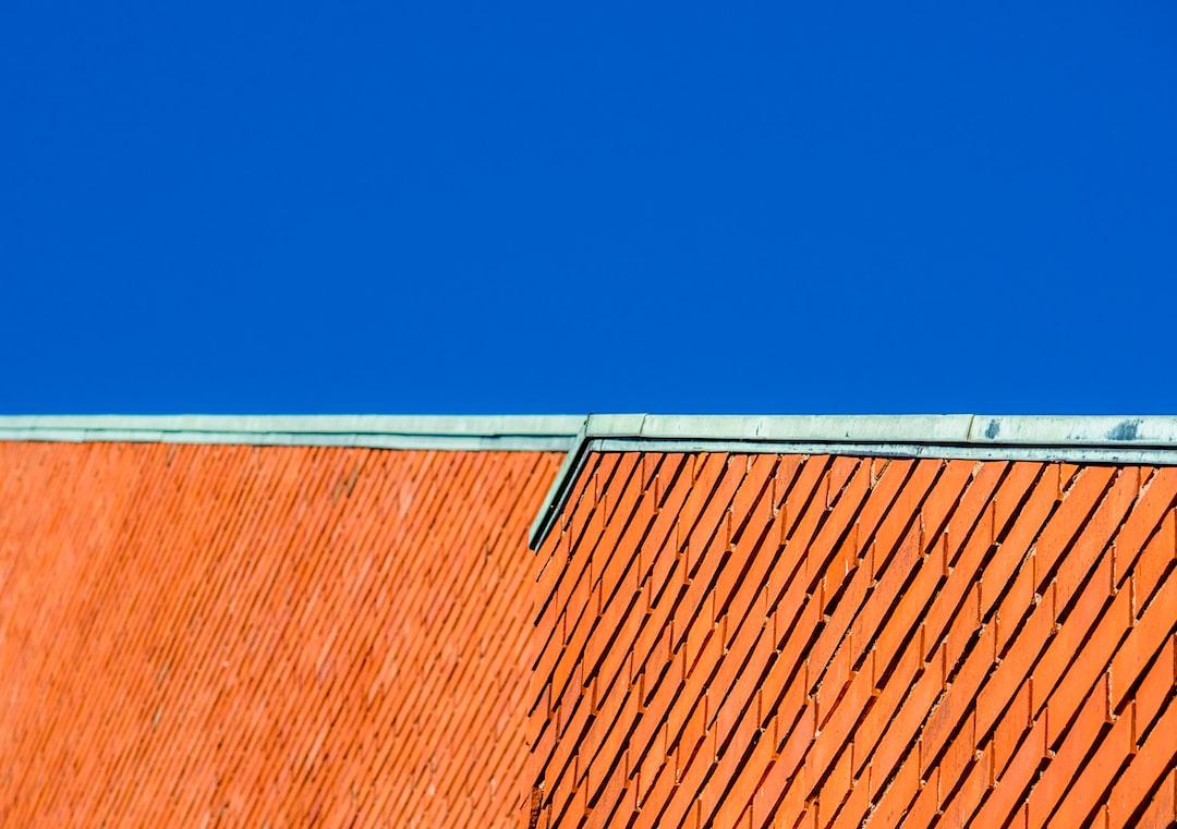 The roofline of the main building of Aalto University's Otaniemi campus.