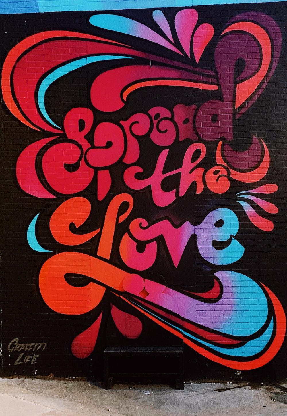 Spread the love illustration