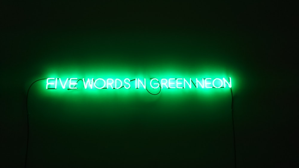 Green Neon Pictures Hd Download Free Images On Unsplash
