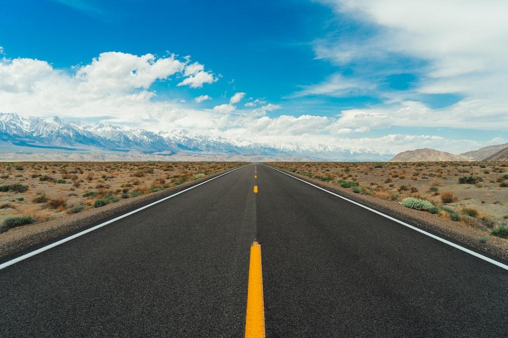grey road during daytime