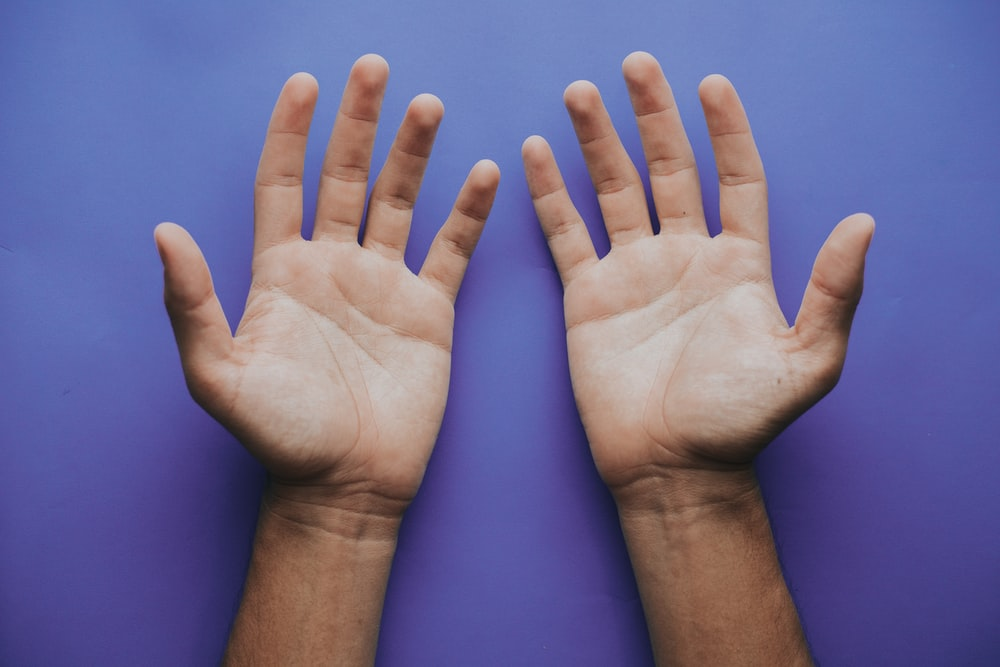 person's hand illustration