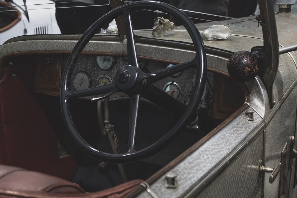empty driver's seat