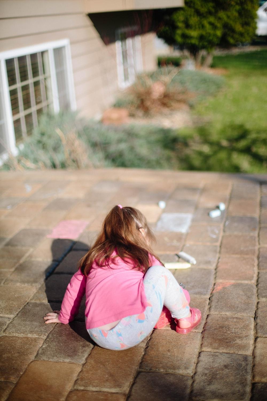 toddler playing during daytime