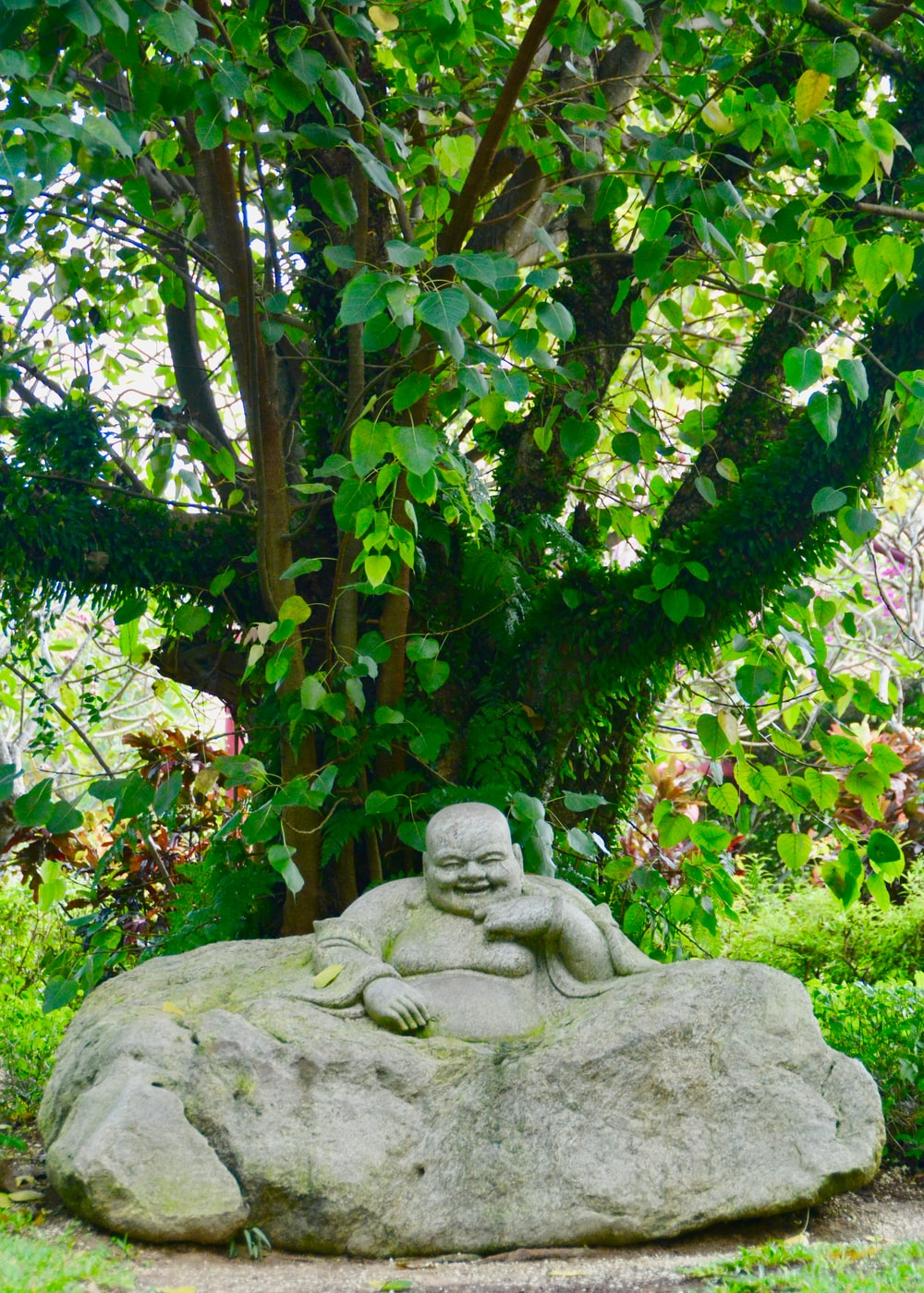 Hotei Buddha statue