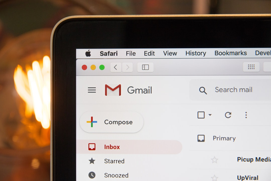 """""""Google Gmail inbox (If using photo in a blog\/ article, please link back to our website hostreviews.co.uk :D)\n"""""""