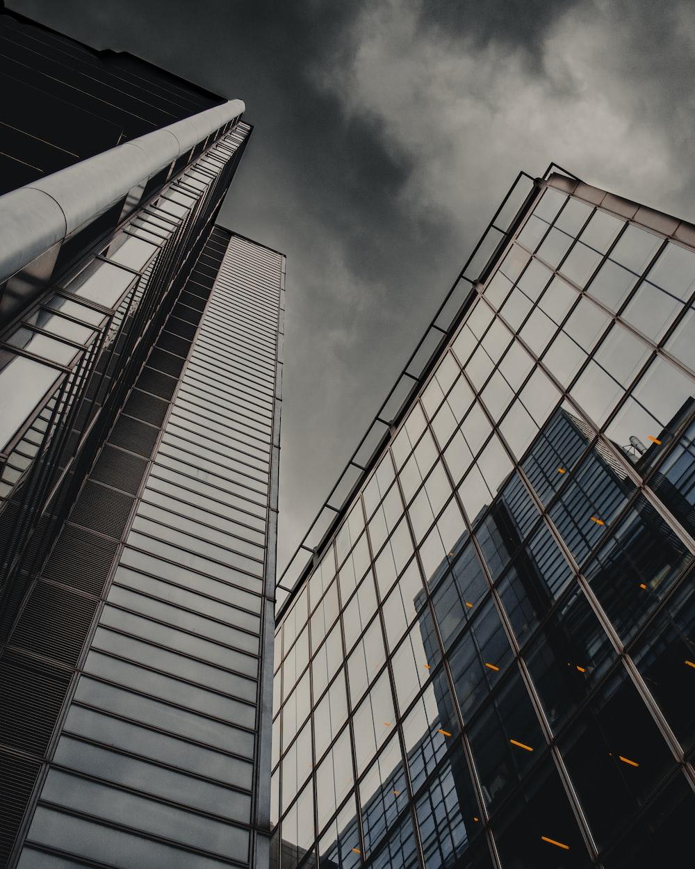 high rise concrete building