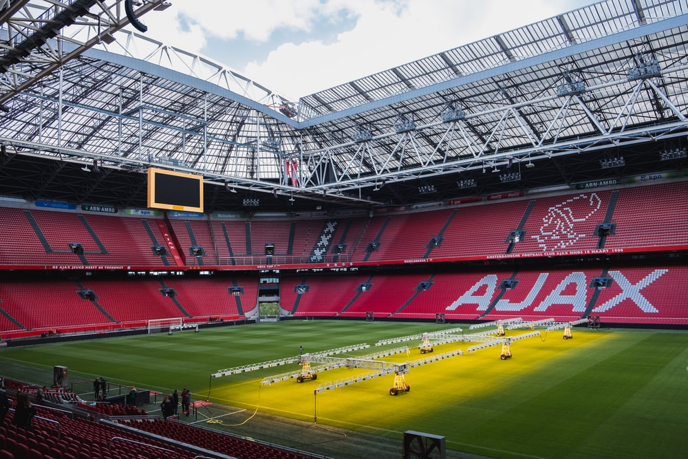 architectural photography of Ajax stadium